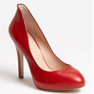 NWOT Sole Society Cameron Red Pumps
